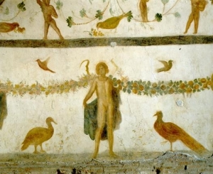 case-romane del celio-sala-dei-geni