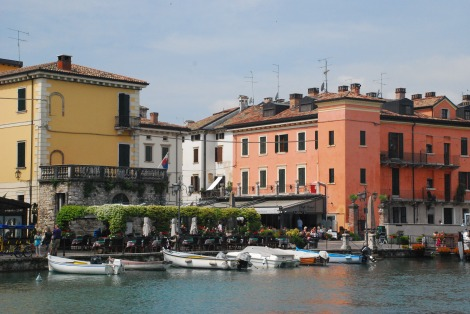 Garda Lake - Peschiera - old town