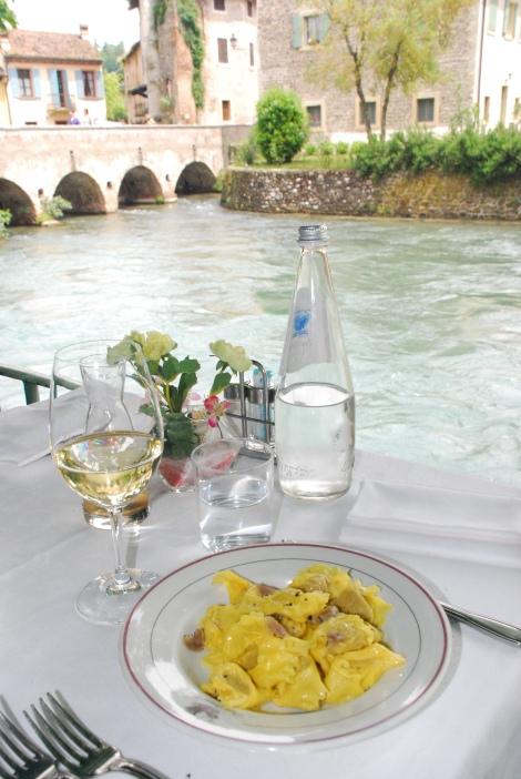 Borghetto sul Mincio - restaurant - Duck ravioli