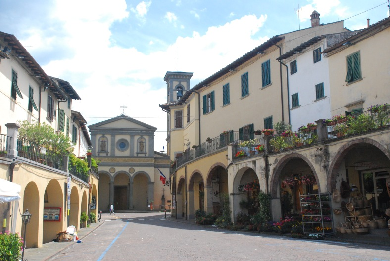 Greve in Chianti - piazza