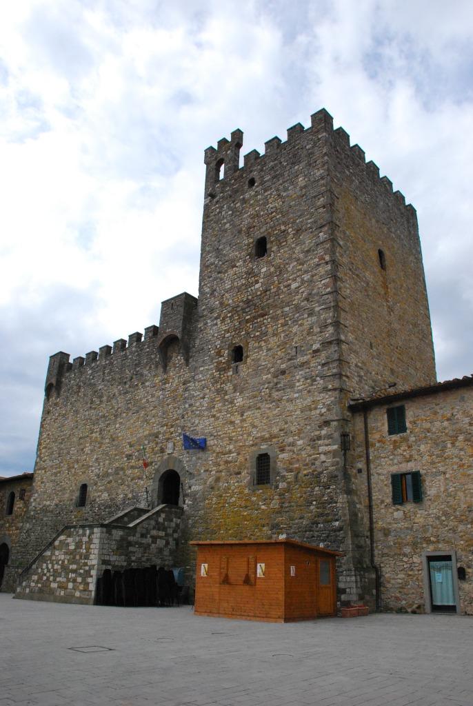 Castellina in chianti - fortezza