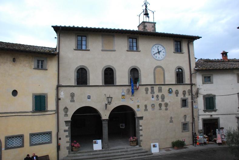 Greve in Chianti - palazzo de