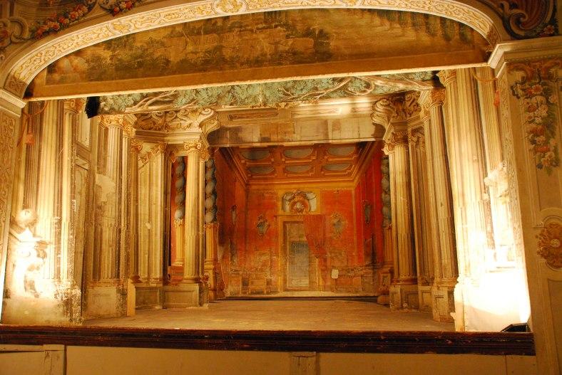 Chianti - Castello di Meletto - Teatro