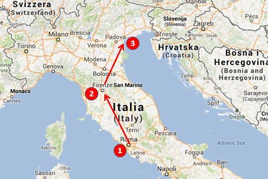 Italy In One Week Delightfully Italy - Italy tour