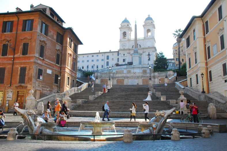 Roma_the Spanish steps