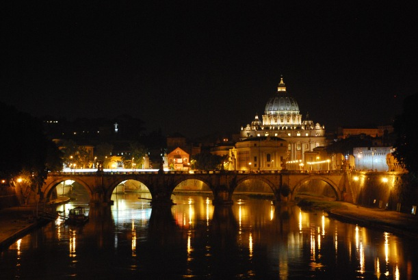 Rome_Sant Peters from Ponte Umberto 1°