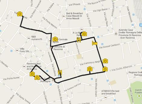 Visit Ravenna itinerary