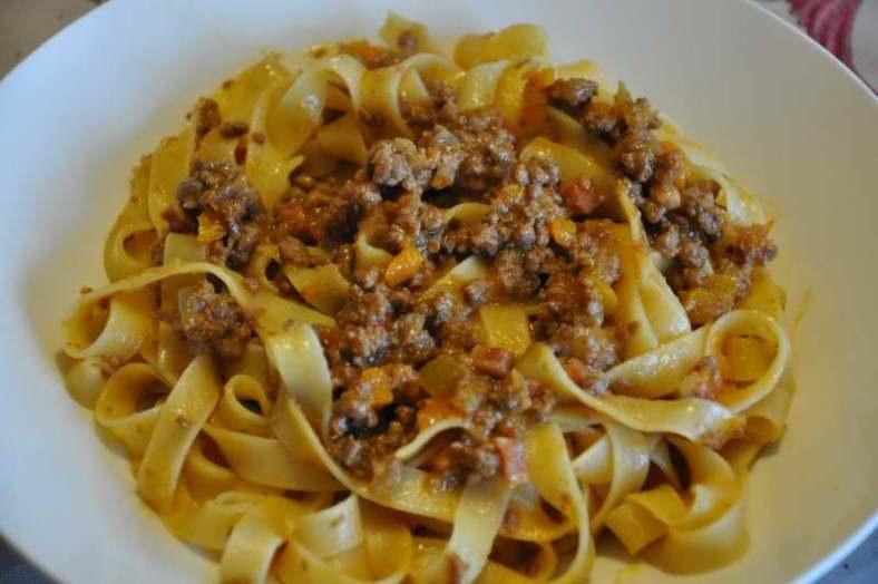 Bologna Foode Guide_Tagliatelle al Ragu
