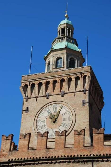 Visit Bologna_Palazzo d'Accursio_Torre Orologio