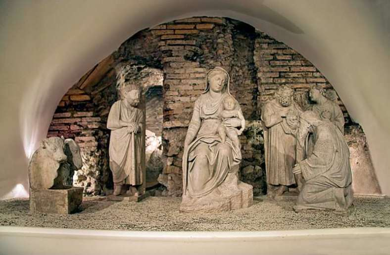 Visit Italy_presepe Santa Maria Maggiore