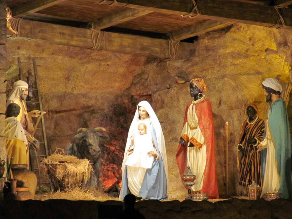 best christmas nativity scenes in italy