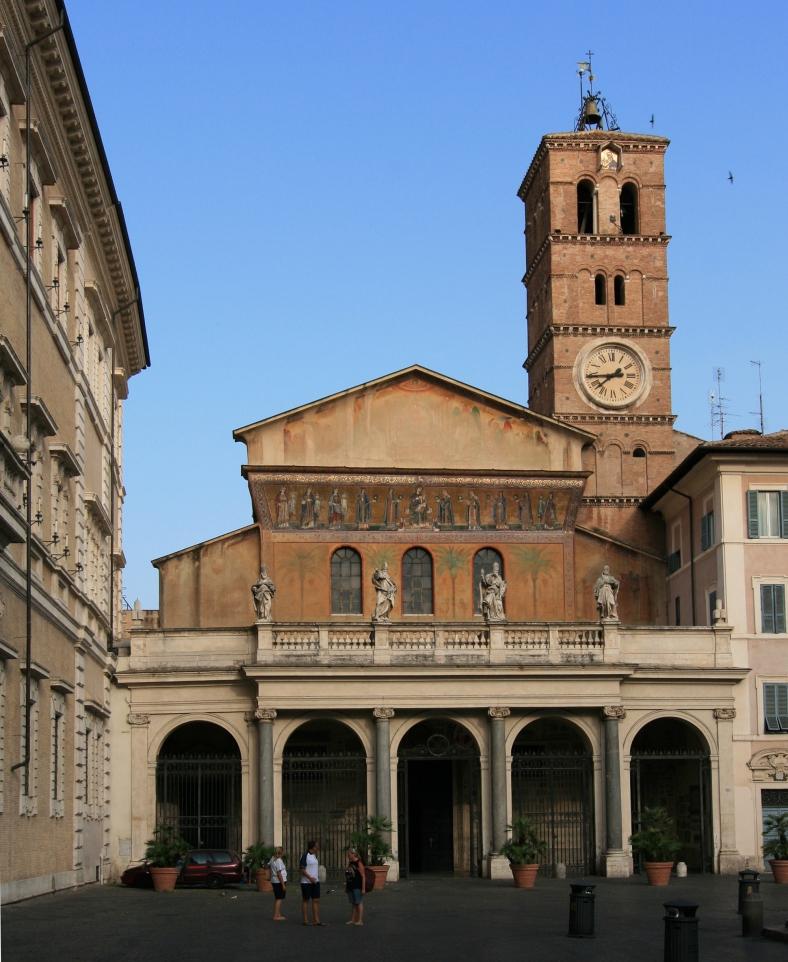 Santa Mri ain Trastevere - courtesy of Wikipdia